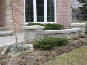 Interlocking Stone Retaining Walls