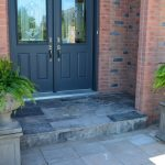 Interlock Stone Covered Porch