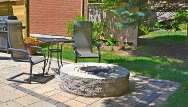 Interlocking Stone Fire pit