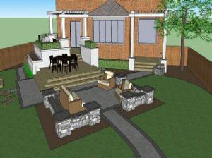 3D Landscape Design by Landscape Designer