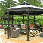 Wood Deck & Gazebo 800