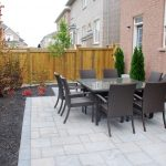 Interlocking Stone Patio