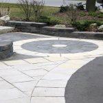 Interlocking Stone Walkway & Retaining Wall