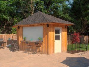 Wood Cabana